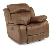 Como NuvoLeather Glider Recliner Product Image