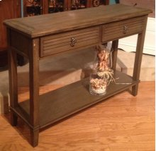 Weathered Ash Console