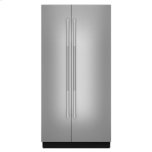 """JENN-AIRRISE 42"""" Fully Integrated Built-In Side-by-Side Refrigerator Panel-Kit"""