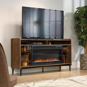 SauderEntertainment/Fireplace Credenza