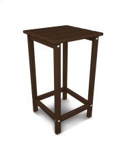 "Mahogany 26"" Counter Side Table Product Image"