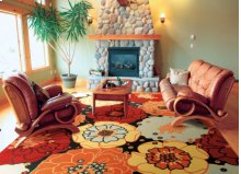 Home & Garden Rs021 Blk Rectangle Rug 10' X 13'