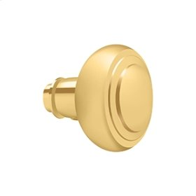 Accessory Knob for SDL688, Solid Brass - PVD Polished Brass