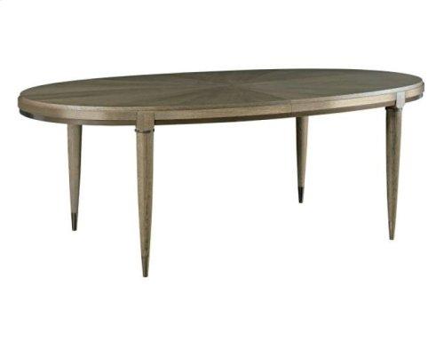 "Lloyd Oval Dining Table-2*20""leaves"