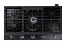 "36"" Gas Cooktop with 19K BTU Dual Burner, NA36N6555TG/AA (Black Stainless)"