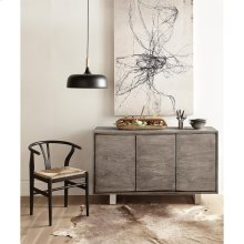 Waverly - Sideboard - Sandblasted Gray Finish