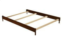 Wood Bed Rails (0030) - Chocolate (204)