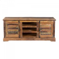 Reclaimed Wood Media Cabinet Product Image