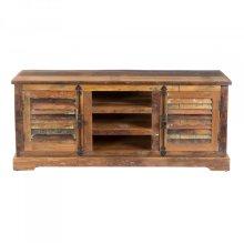 Reclaimed Wood Media Cabinet