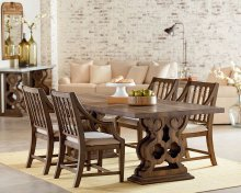 Traditional Double Pedestal Dining Room