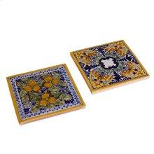 Spanish Garden Tile Trivets