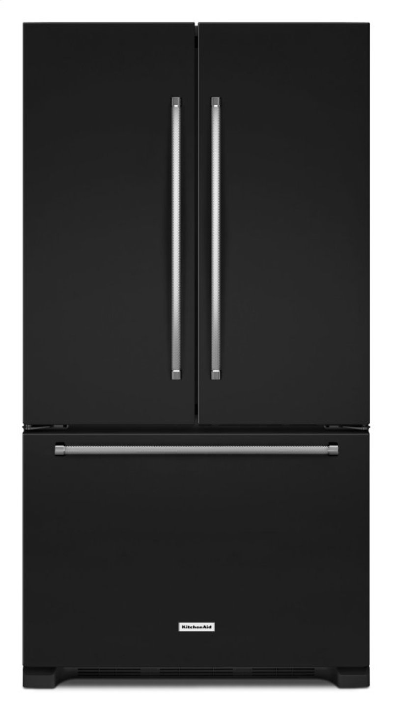 20 Cu Ft 36 Inch Width Counter Depth French Door Refrigerator With