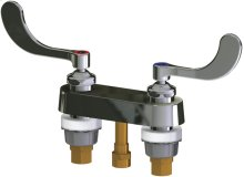 Remote Hot and Cold Water Sink Faucet