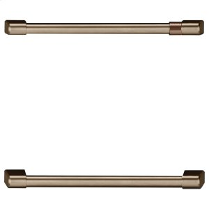 CafeUndercounter Refrigeration Handle Kit - Brushed Bronze