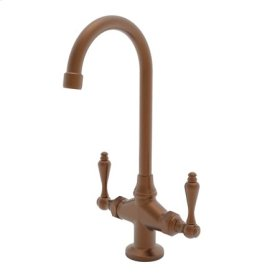 Antique Copper Prep/Bar Faucet