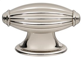 Tuscany Knob A232 - Polished Nickel