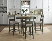Ct Ht Table, W/4 Chairs