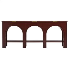 Havana Crossing - Portico Console In Masonic Red