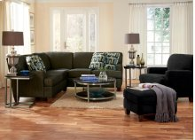 2 PC Fabric Sectional