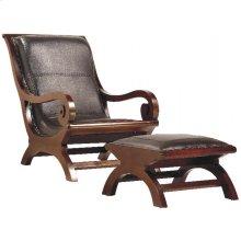 Lazy Chair Dark Brown