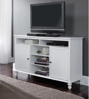 TV Stand Beach White
