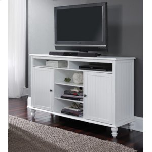 JOHN THOMAS FURNITURETV Stand Beach White