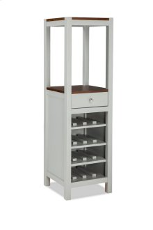 Small Space Dining Vertical Wine Cabinet