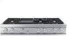 """48"""" Gas Rangetop, Stainless Steel, Natural Gas Product Image"""