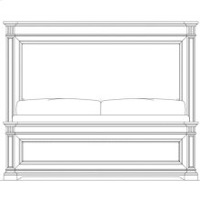 Portico Panel Bed - Shell / Queen