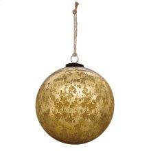 "6"" Classic Gold Ball Ornament"