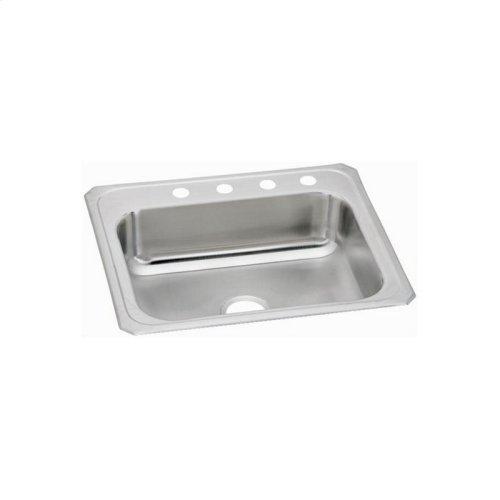 """Elkay Celebrity Stainless Steel 25"""" x 22"""" x 7"""", Single Bowl Drop-in Sink"""
