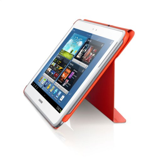 Galaxy Note 10.1 Magnetic Book Cover, Orange