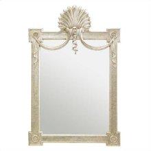 Charleston Regency - Regent's Mirror In Champagne Silver Leaf