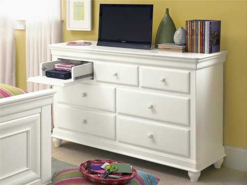 Drawer Dresser - Summer White