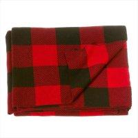 Buffalo Plaid Knit Throw. Product Image