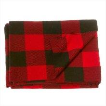 Buffalo Plaid Knit Throw.