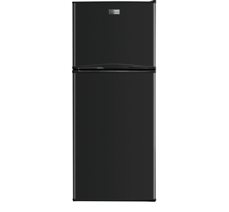 Fftr1022qb in black by frigidaire in west point va 99 cu ft ft top freezer apartment size refrigerator swarovskicordoba Gallery