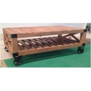 Industrial Natural Mango Coffee Table Product Image