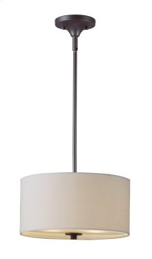 Bongo 2-Light Pendant / Semi-Flush Mount