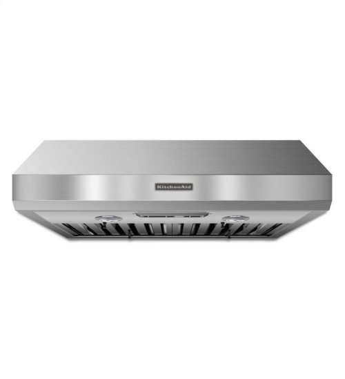 KitchenAid® 30'' Under-the-Cabinet 600 CFM Commercial-Style - Stainless Steel