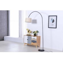2800 Black Floor Lamp