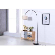 2800 Black Floor Lamp