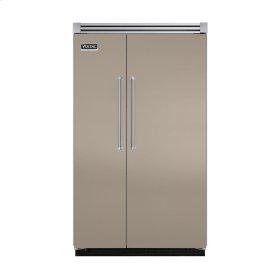 "Taupe 48"" Quiet Cool™ Side-by-Side Refrigerator/Freezer - VISB Tru-Flush™ (48"" wide)"