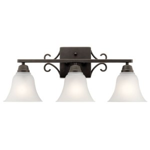 Bixler 3 Light Vanity Light Olde Bronze®