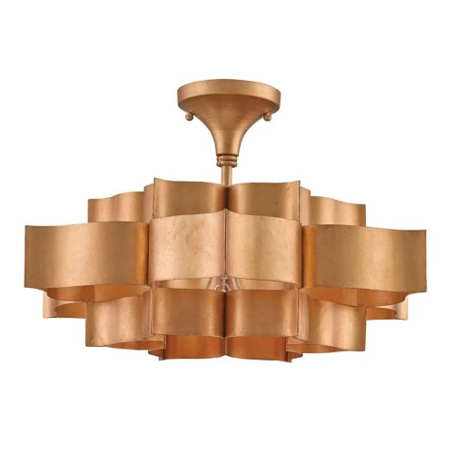 Grand Lotus Gold Small Chandelier