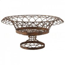Large Round Petal Basket