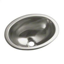 Oval Single Basin Self-Rimming/Undermount Entertainment Sink/Lavatory