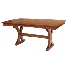 Trestle Table with Leaf