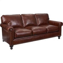 BROYHILL L6751-3Q Harrison Leather Sofa In Affinity Finish