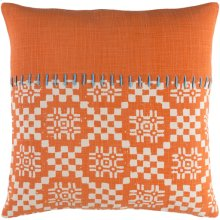 """Delray DEA-002 18"""" x 18"""" Pillow Shell with Down Insert"""